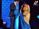 Watch Salman Khan Teaching Sunny Leone To Wear Saree - Hindi Latest News - Star Guild Awards